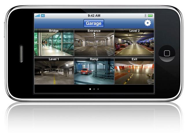 smartphone remote viewing