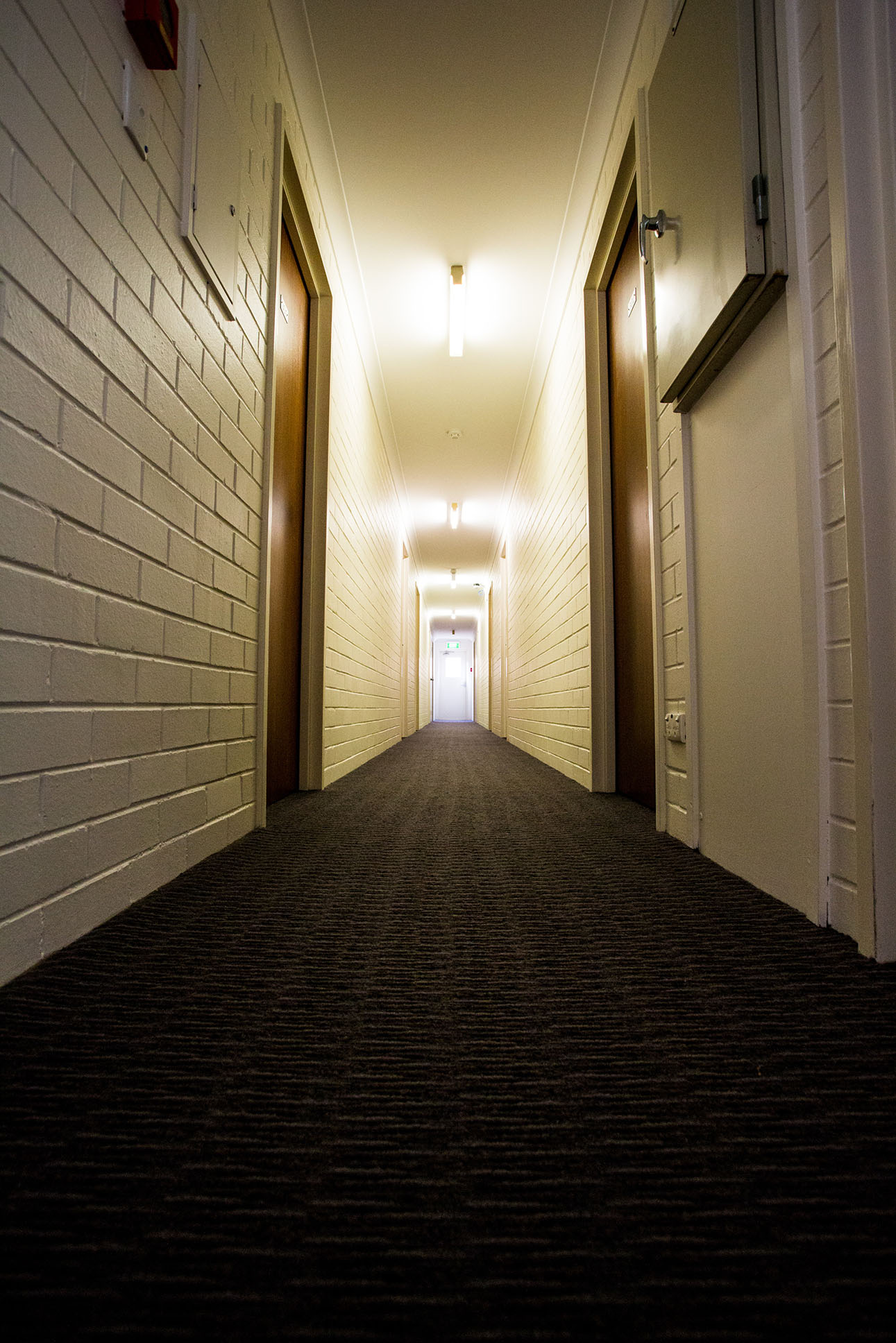 Corridor leading to our rooms