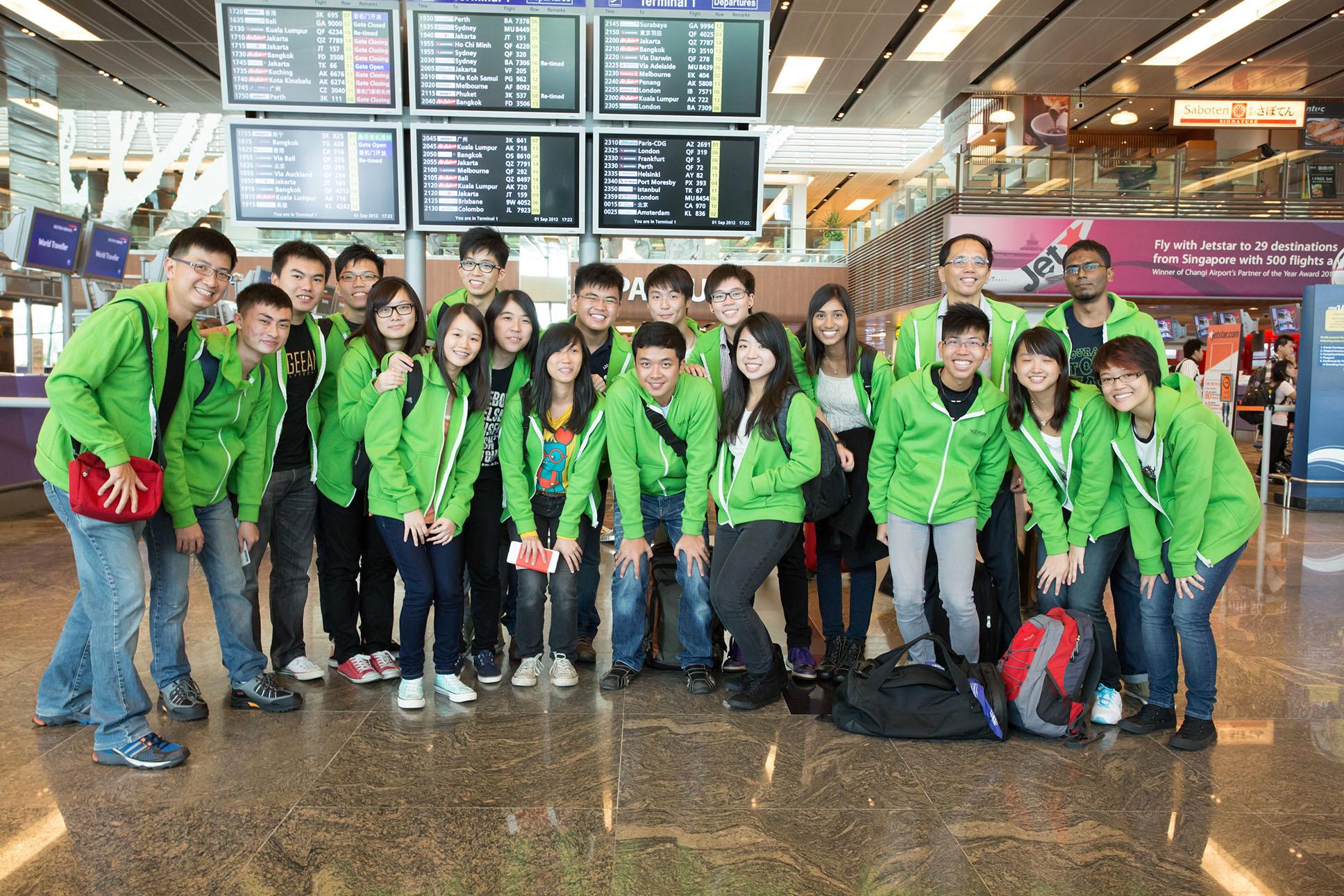 Day 0 at Changi Airport