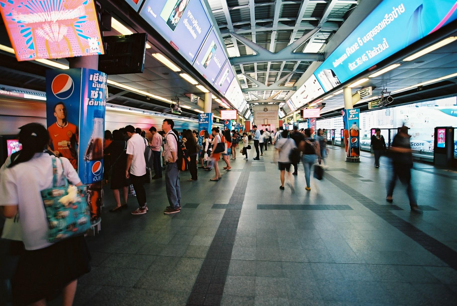 Ektar 100 | BTS Station