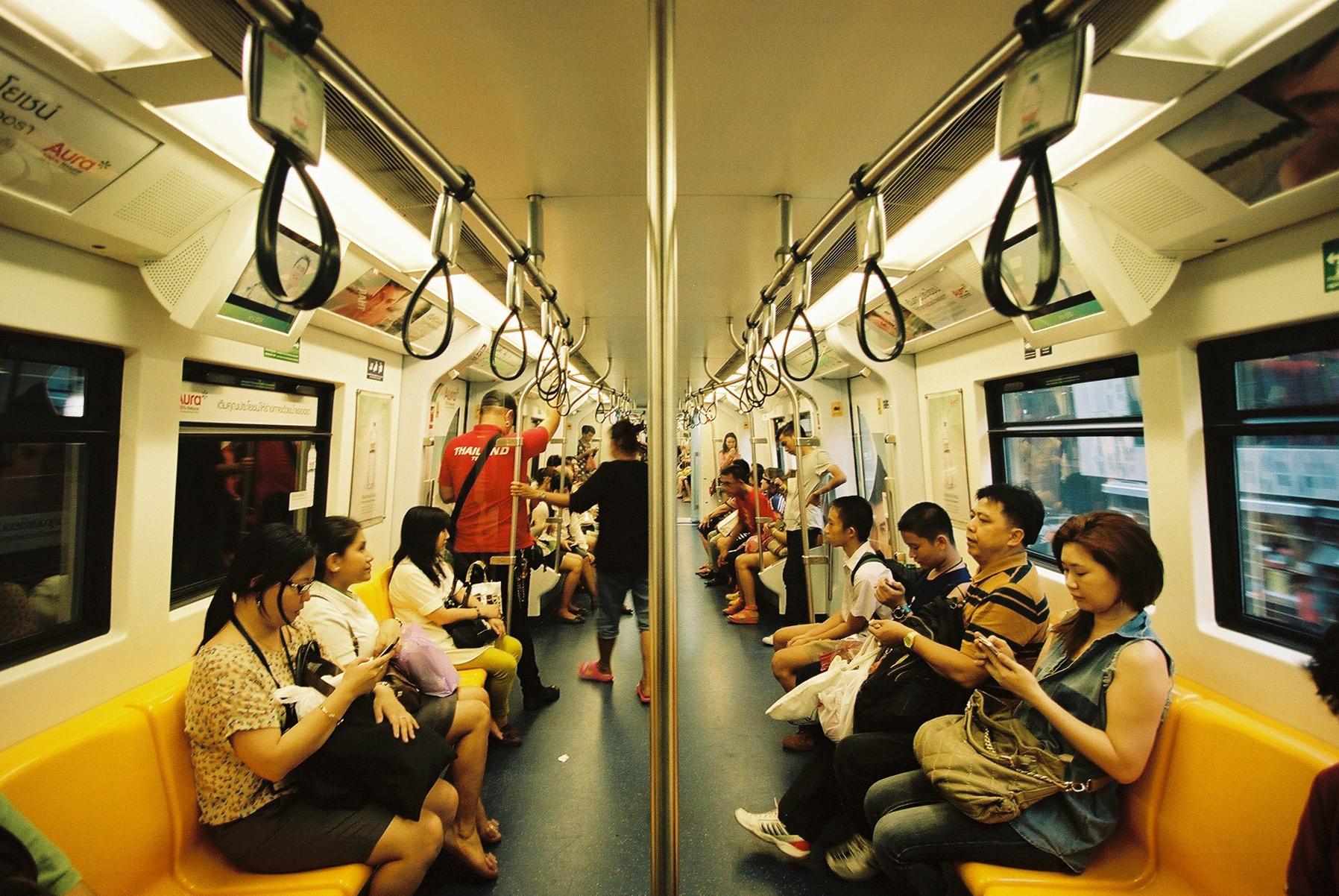 Portra 160 | BTS Trains