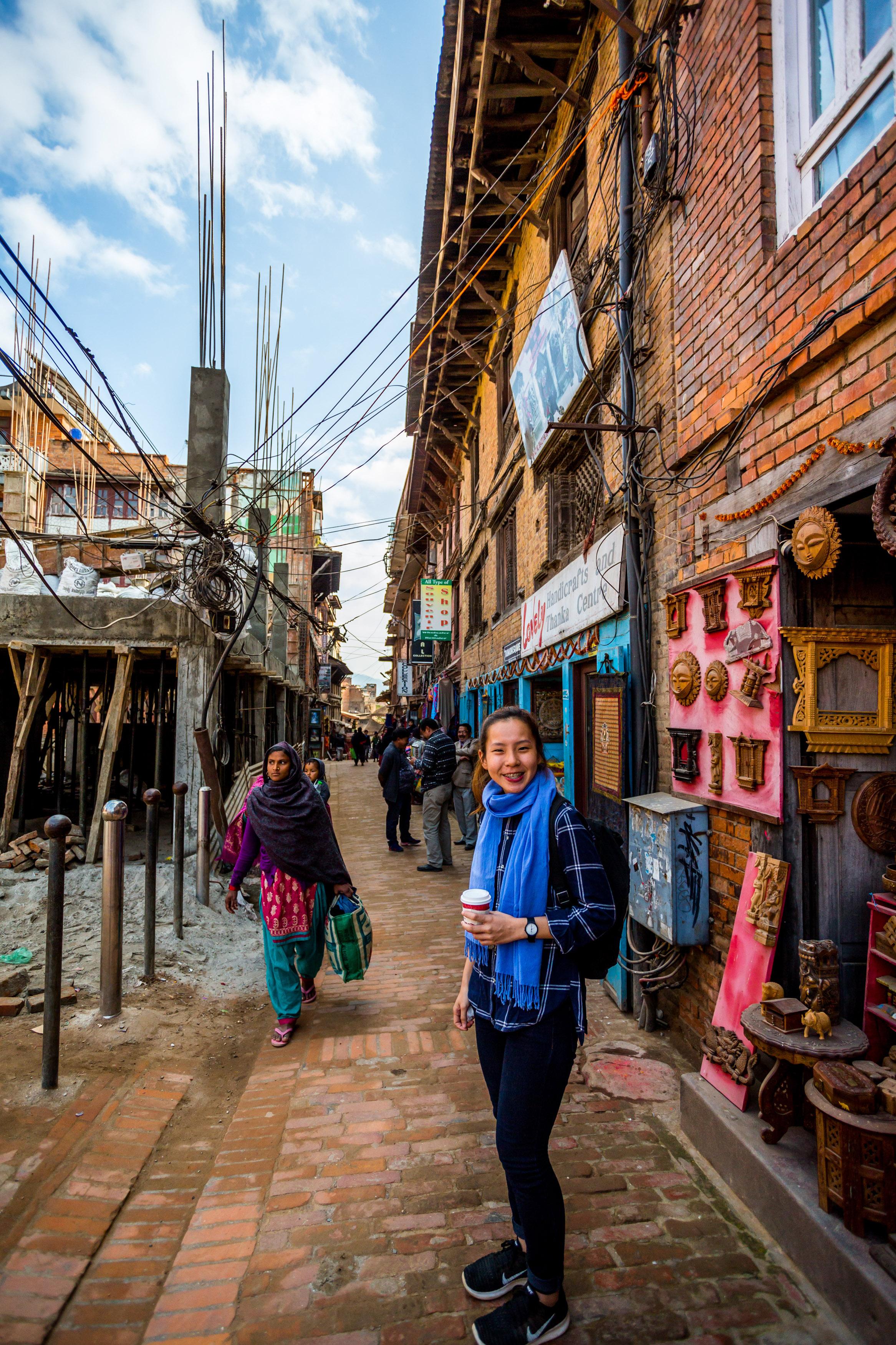 Somewhere in Bhaktapur