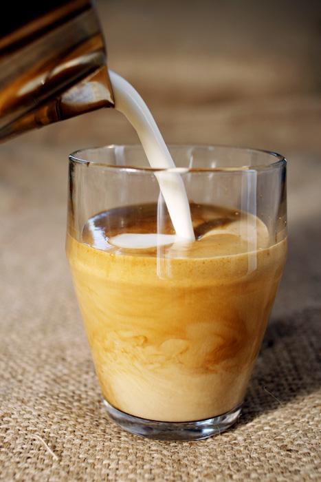 cappuccino Kahls Kaffe foto David Falk
