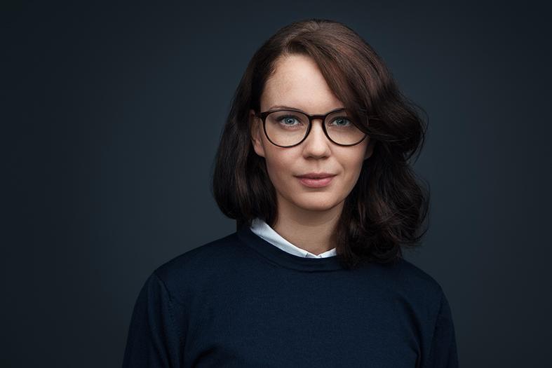 studio porträtt skådespelerska