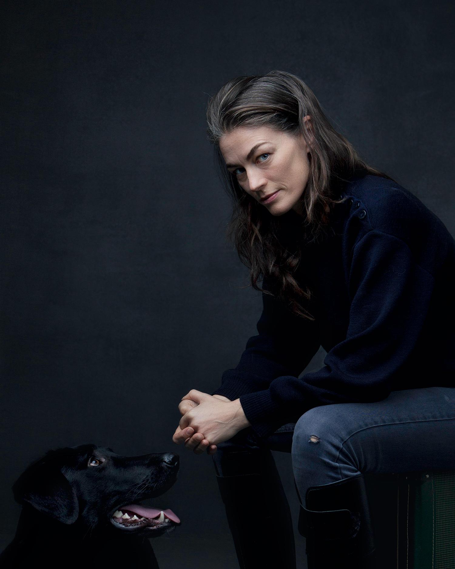 Sara Teleman Porträtt Studio Fotograf David Falk Unique Talents