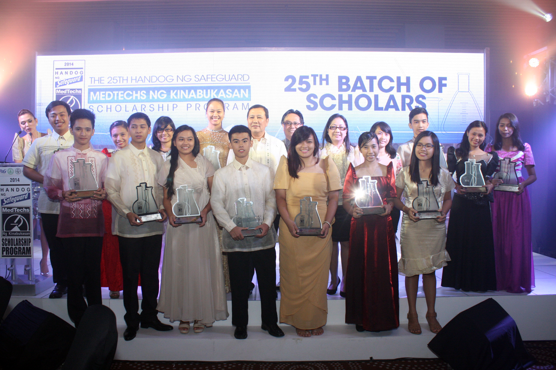 "In 1989, Safeguard partnered with PAMET for the first ""Handog ng Safeguard: MedTechs ng Kinabukasan"" Scholarship Program. Each year, Safeguard and PAMET support intellectually gifted by financially needy Medical Technology students. To date, they have awarded over 300 scholarships."