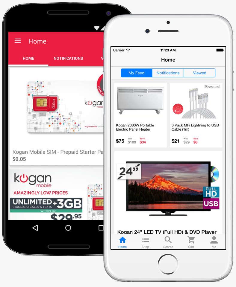 Kogan.com Mobile Apps