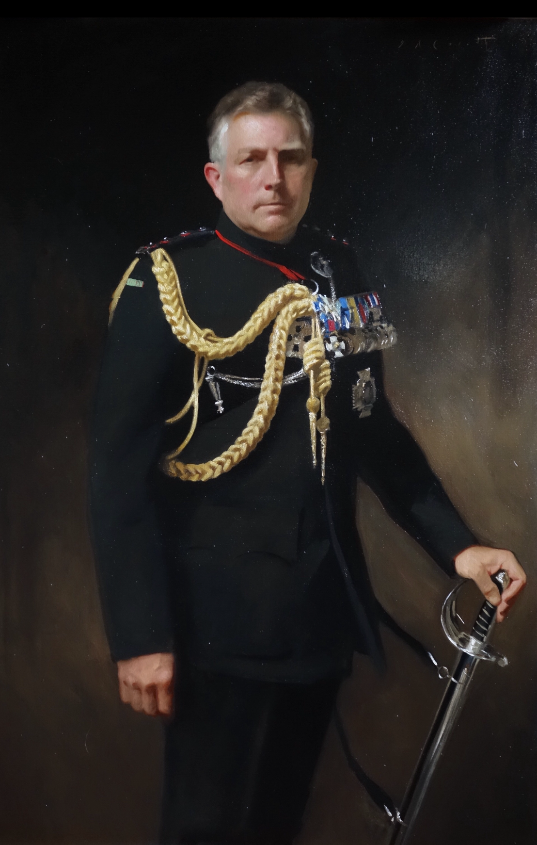 Portrait of General Sir Nick Carter, Chief of the Defence Staff and Col Commandant of the Rifles