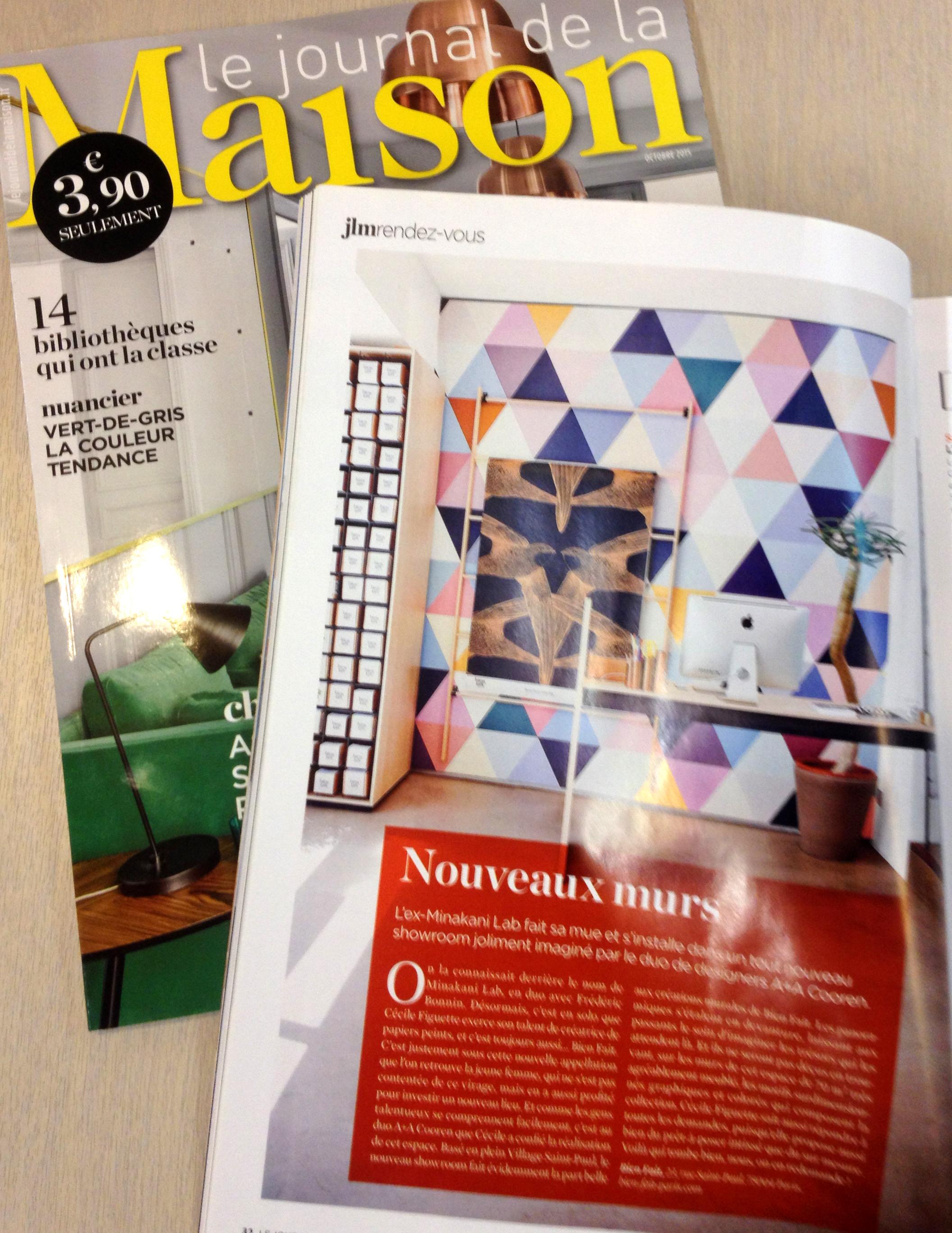 Le Journal de Maison / France / 10.2015