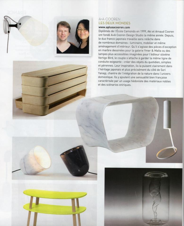 Interiors creation n°11 - Les plus grands designers du monde 2013 (Fr)