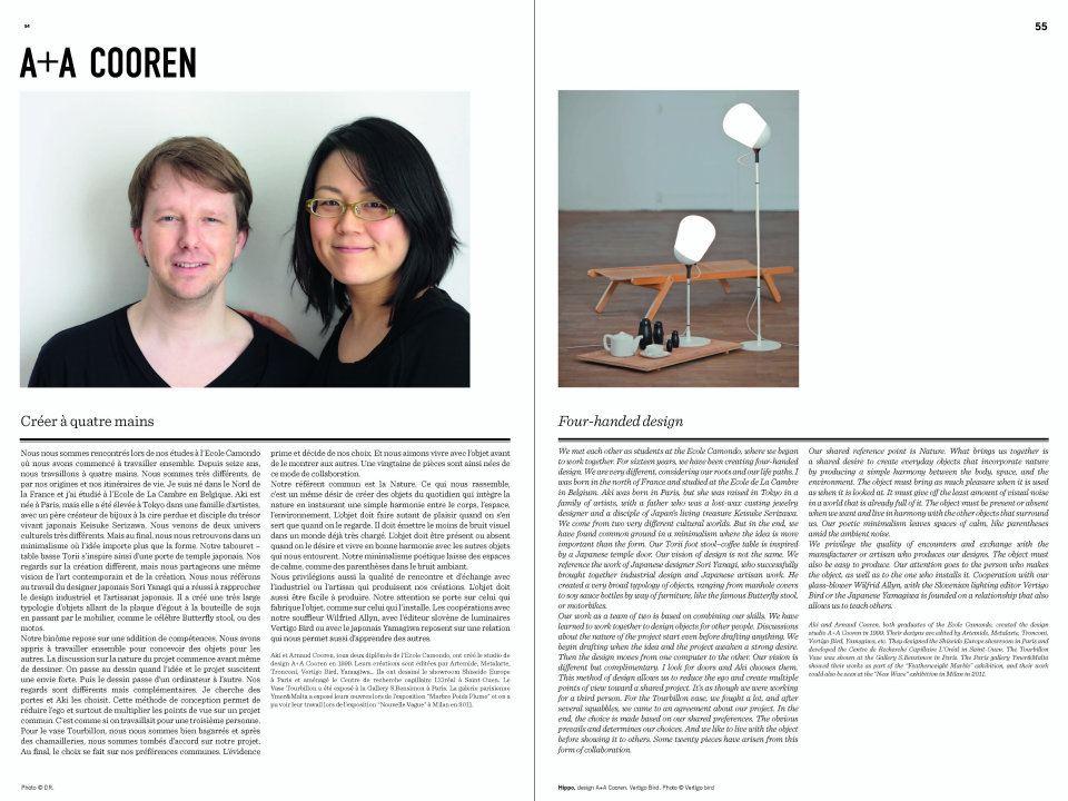 Le cahier d'inspiration M&O   Sept. 2011