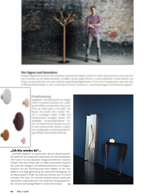 Wohn Design / Germany / 04.2018