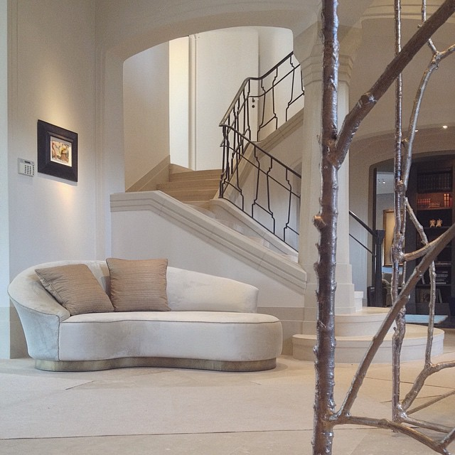 Interior decoration and furniture of Residence G.
