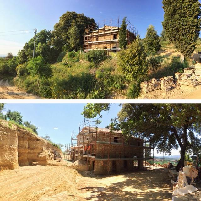 Retreat in Tuscany - In progress