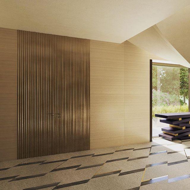 Residence M. - interior proposal #BDC