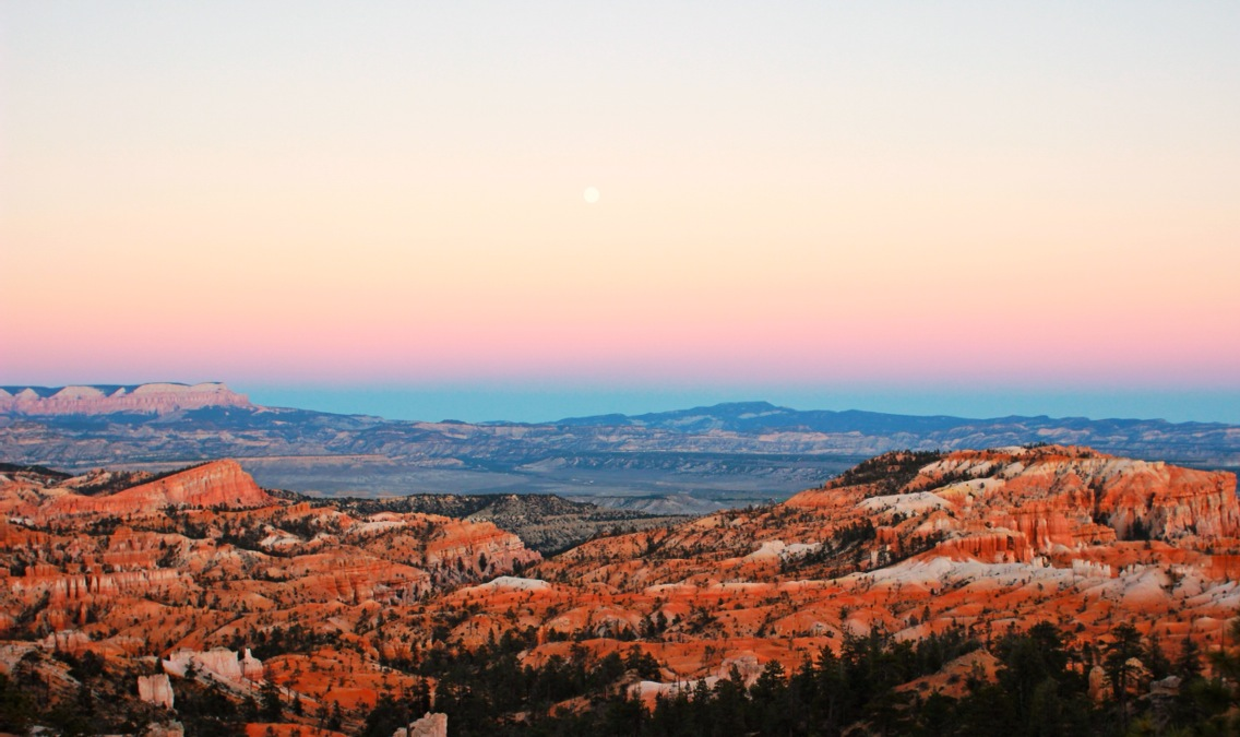 Sunrise Point at Bryce Canyon National Park in Utah. See More At www.femalehiker.com