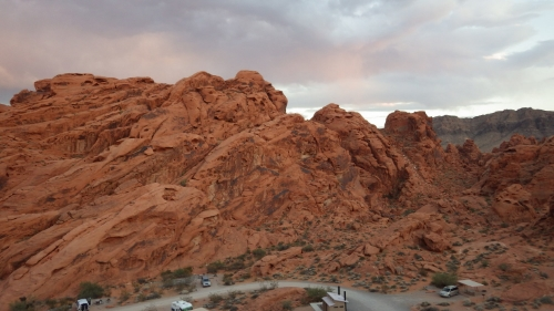Valley of Fire Campground. Read More at www.femalehiker.com