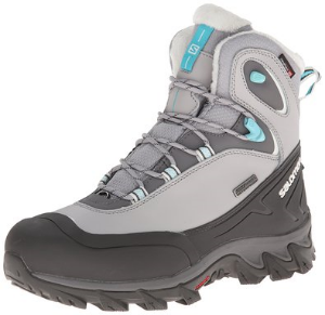 The Salomon Anka CS Wp is a great winter hiking boot for women.
