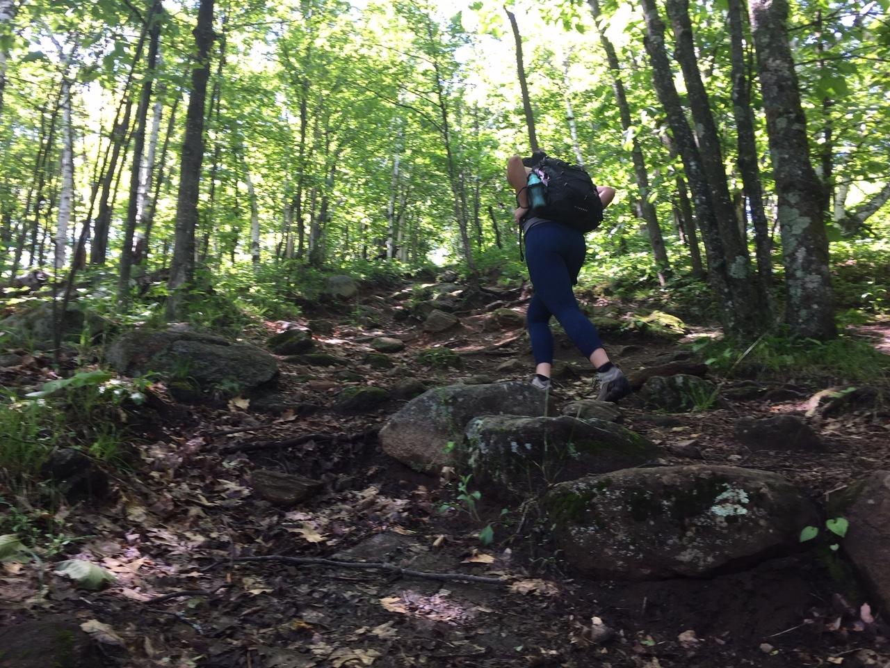 The hike up Chimney Mountain is beautiful! Gem near the Adirondacks.