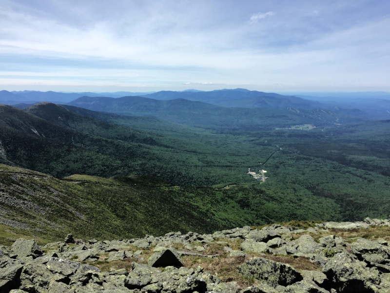 Presidential Traverse in the White Mountains, New Hampshire