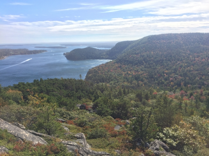 View from Acadia Mountain