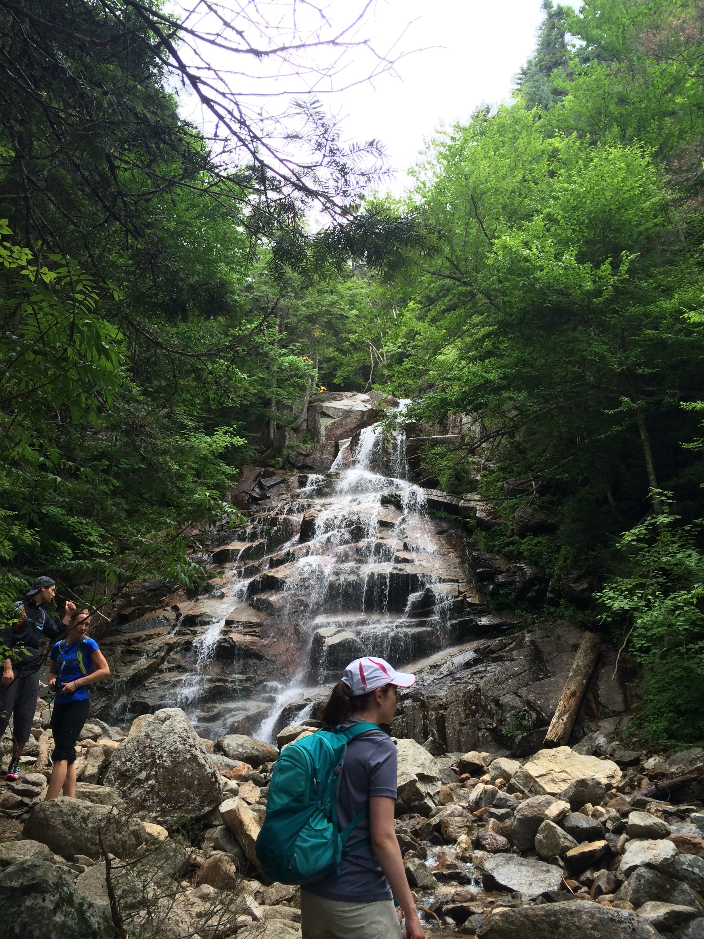 Waterfall in New Hampshire