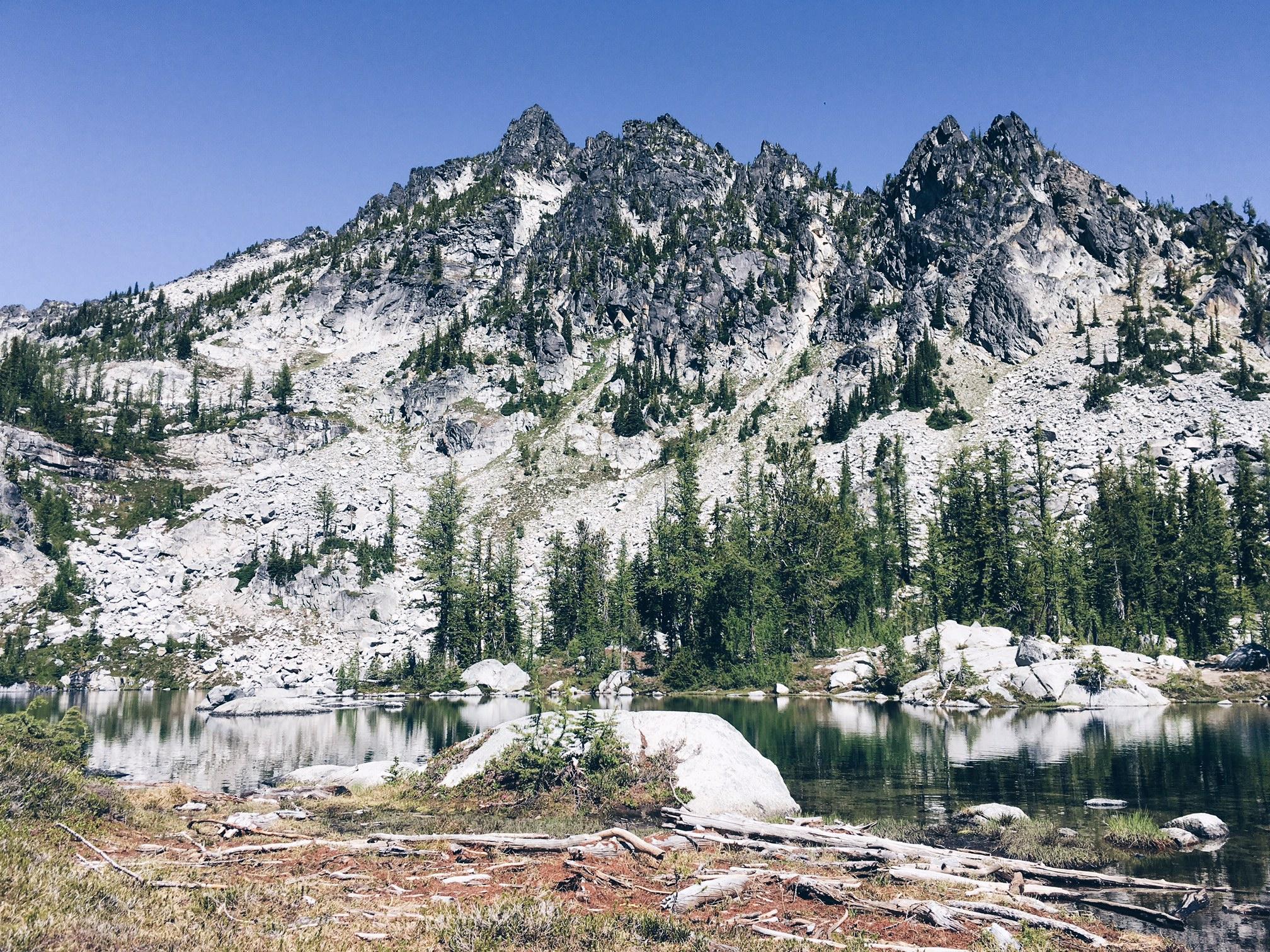 Horseshoe Lake in the Enchantments, Washington