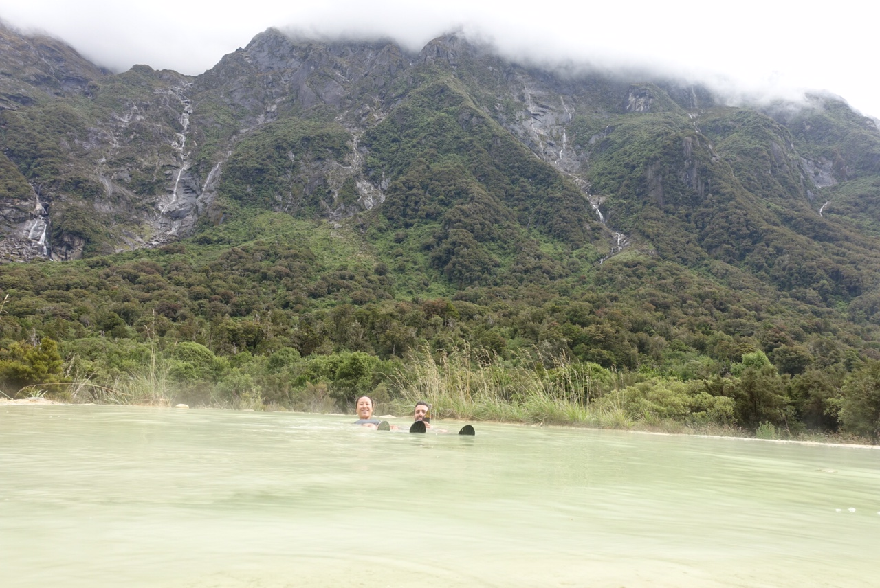 Hot Springs at Copland Track