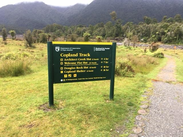 Copland Track Start