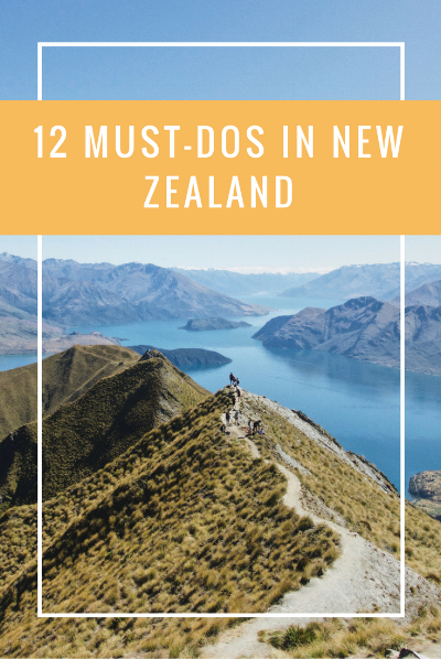 12 Must-do experiences in New Zealand for the outdoor lover