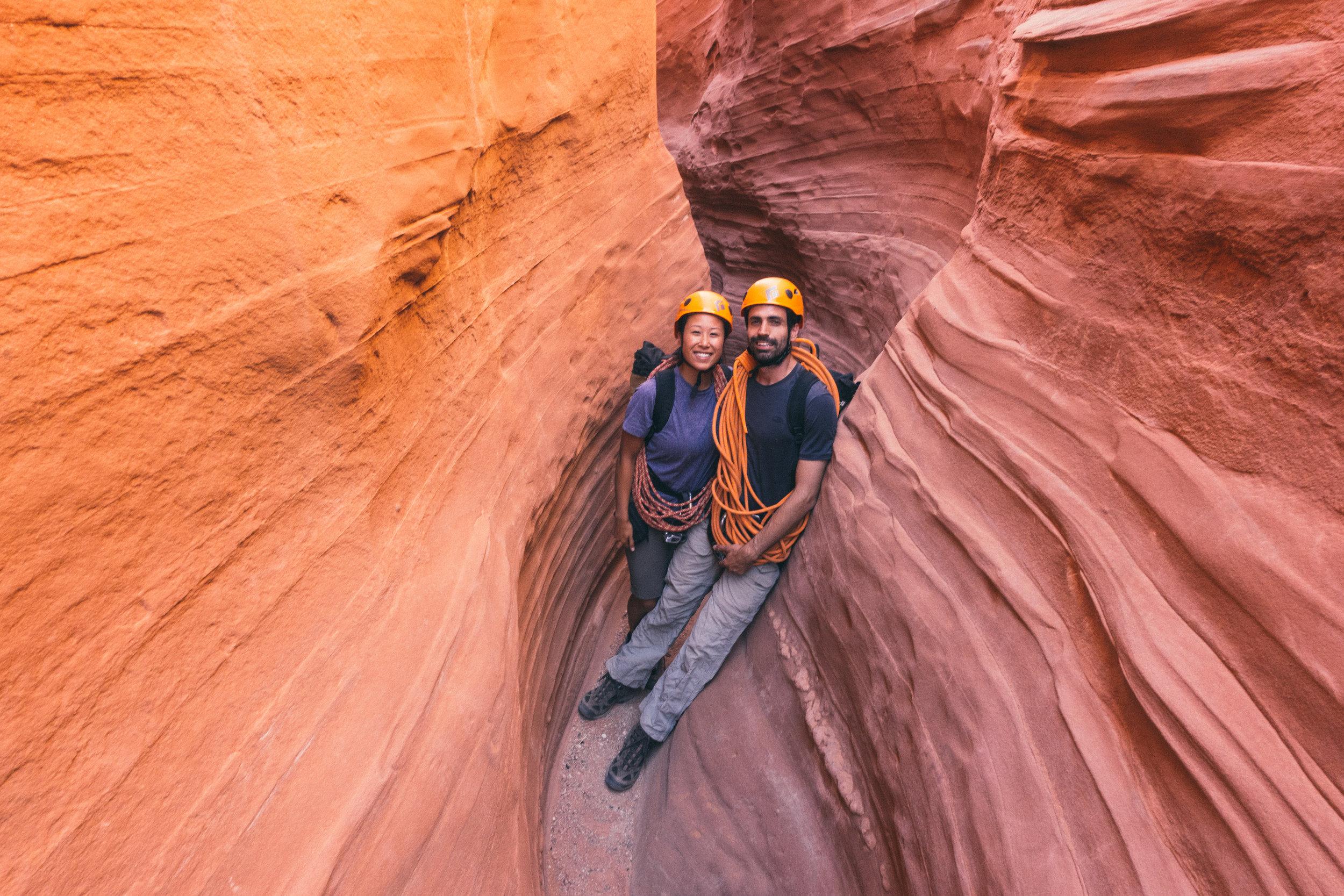 Canyoneering in Escalante