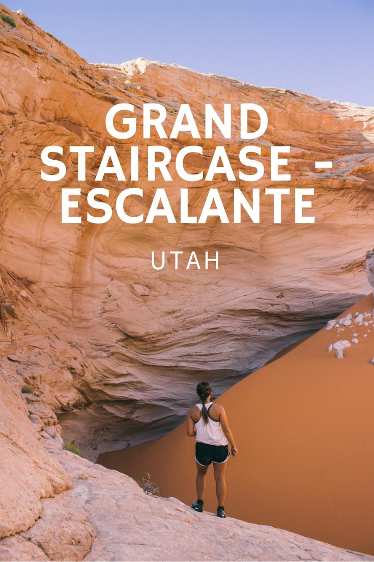 Grand Staircase Escalante in Utah