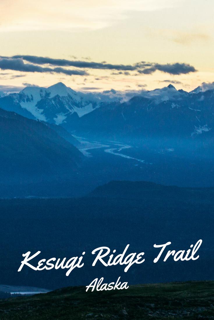 Kesugi Ridge Trail in Denali State Park