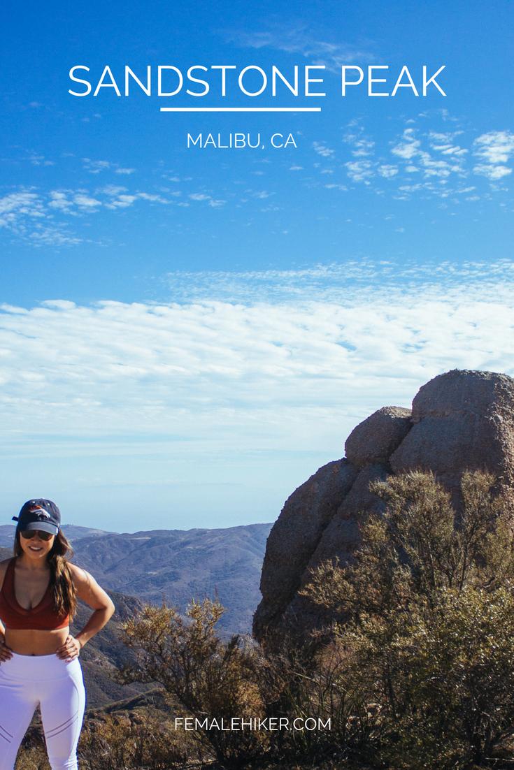 Sandstone Peak in Malibu