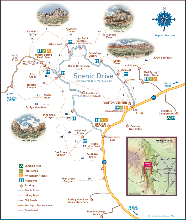 Red Rock Map