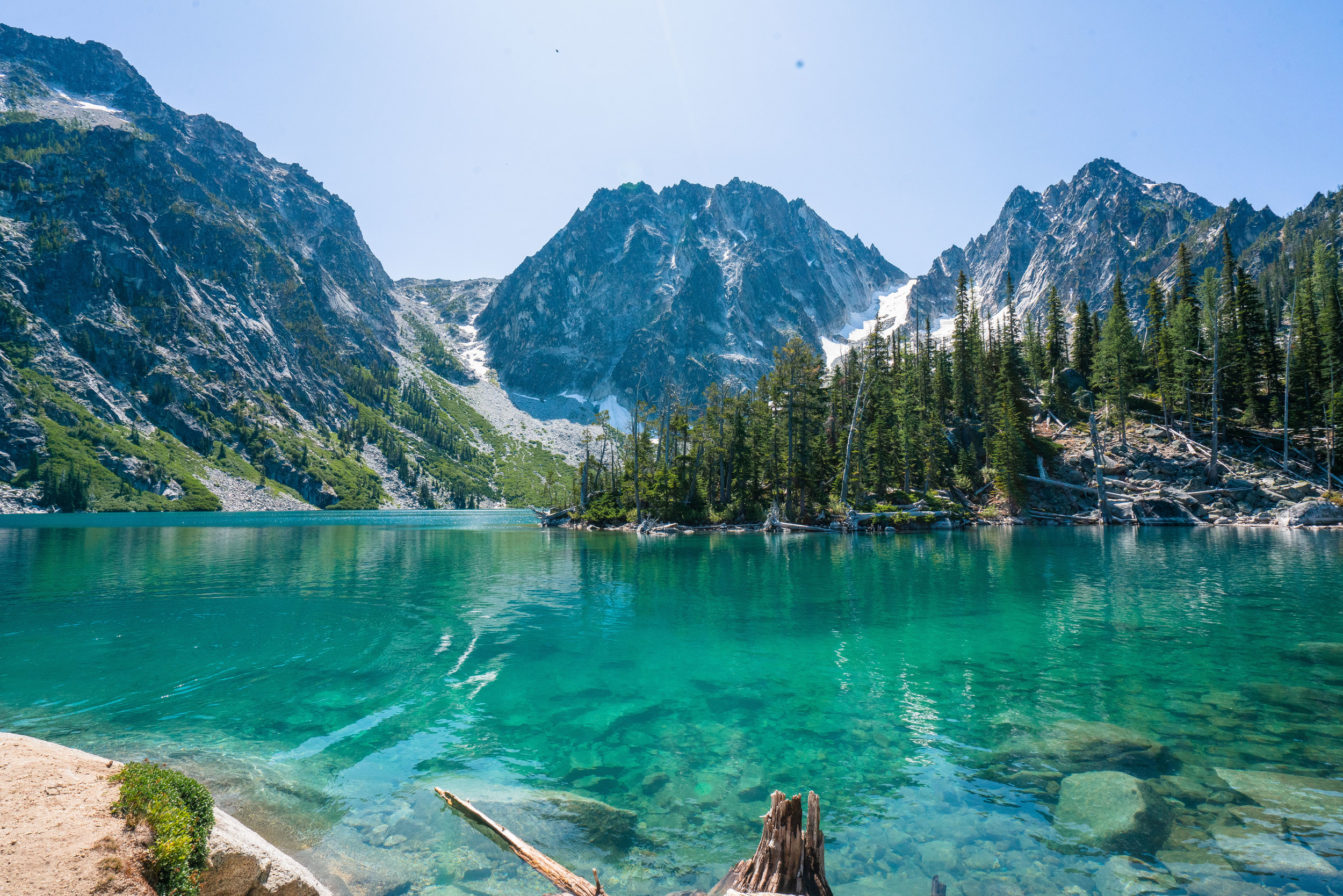 Colchuck Lake in the Enchantments area of Washington