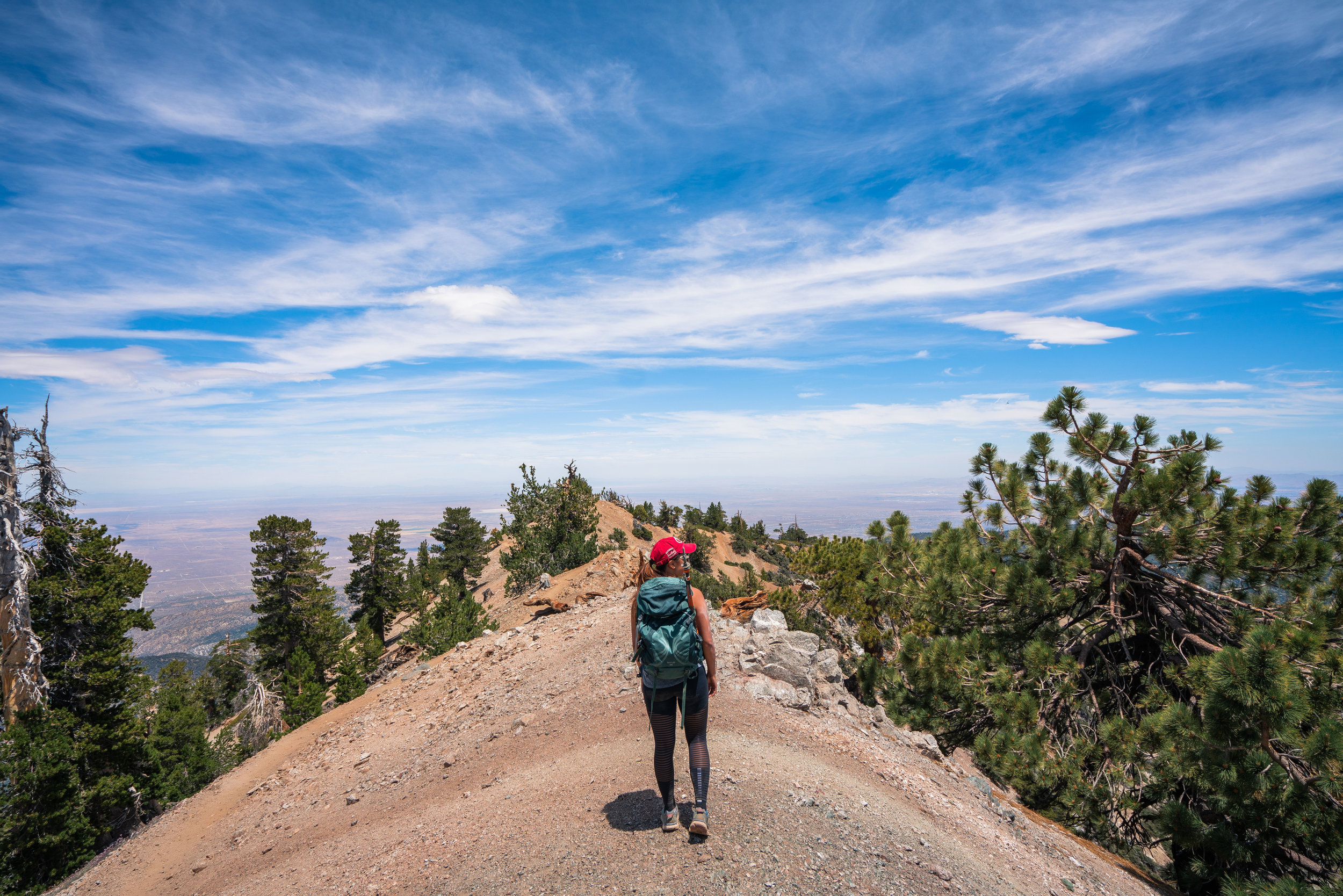 Mount Baden Powell ridge line