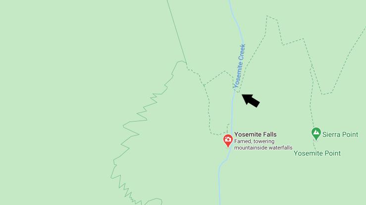 Yosemite Creek Water