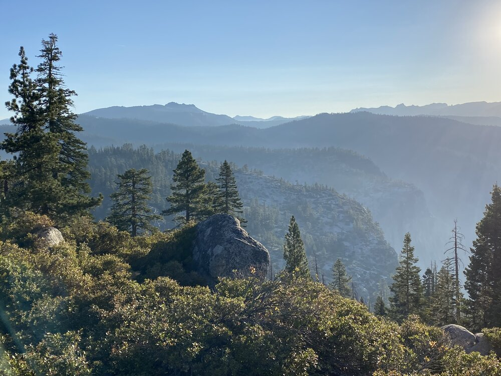 Eagle Peak in Yosemite