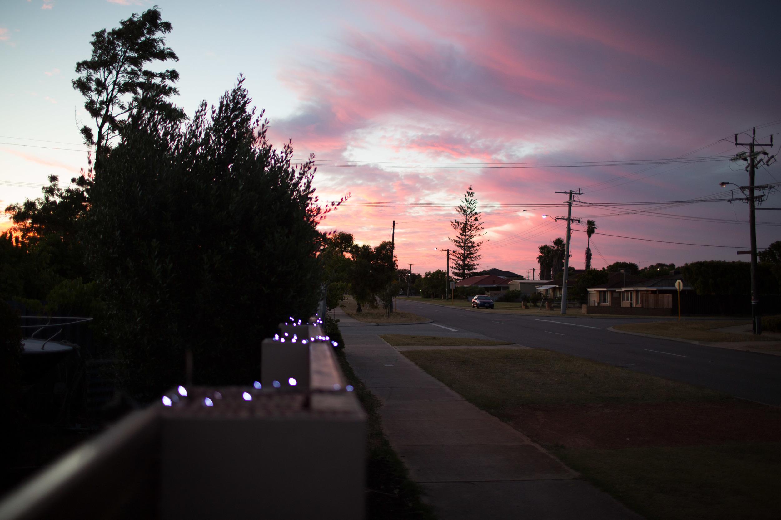 sunsetglow