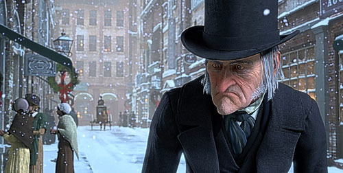 image from Disney's A Christmas Carol with Jim Carrey
