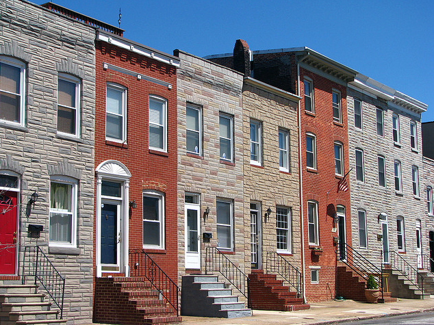 Modest Baltimore rowhomes