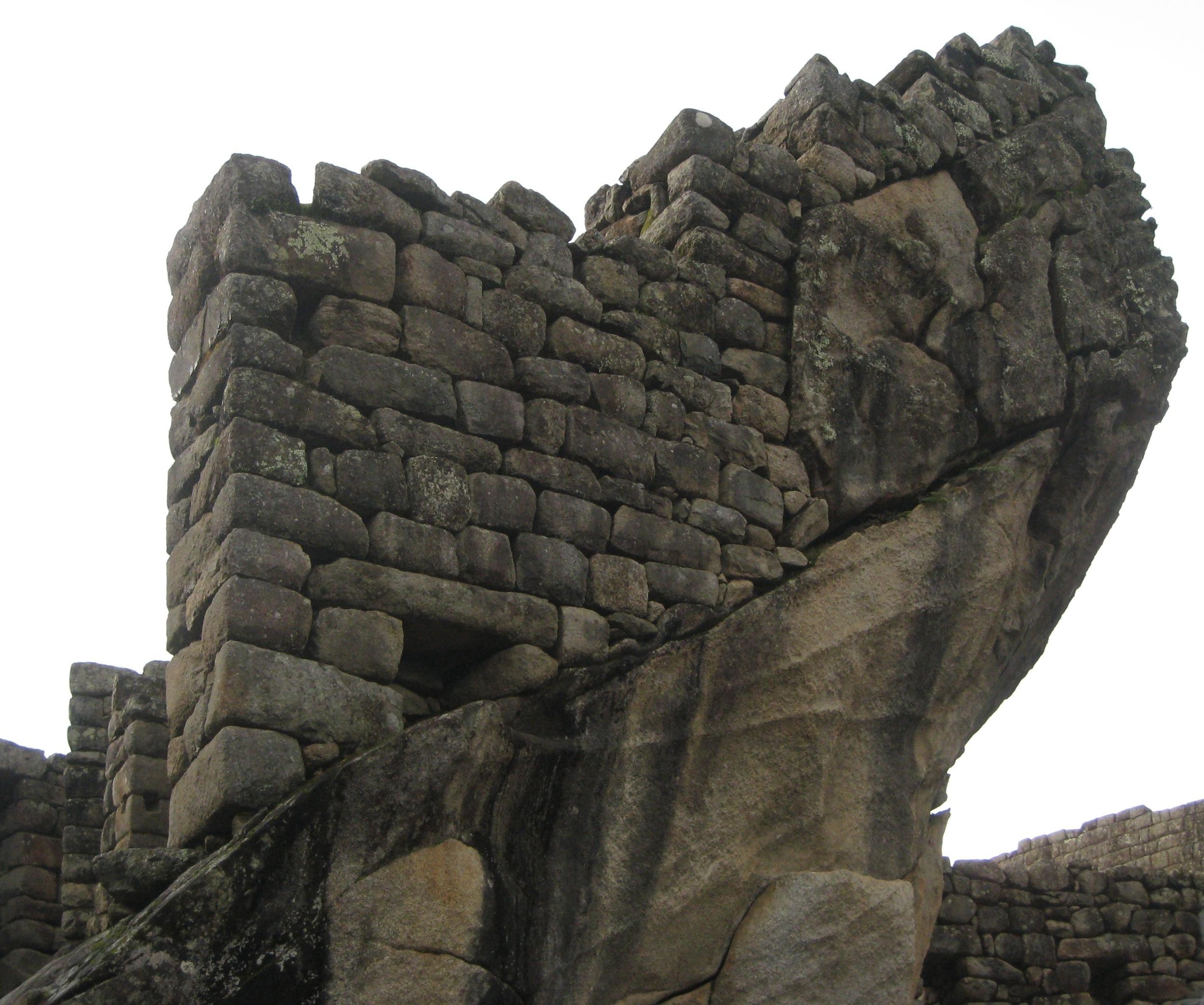 Machu Pichhu stonework