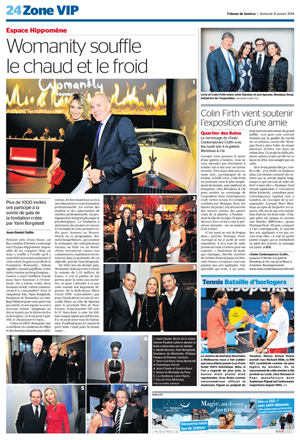 Tribune de Geneve  31 January 2014