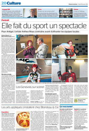 Tribune de Geneve  28 January 2014