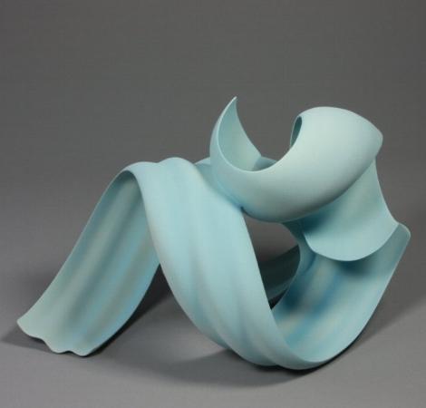 Light Blue Sculpture No 6