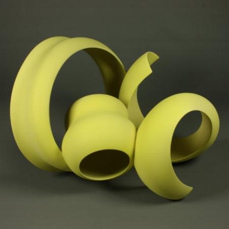 Yellow Sculpture No 9