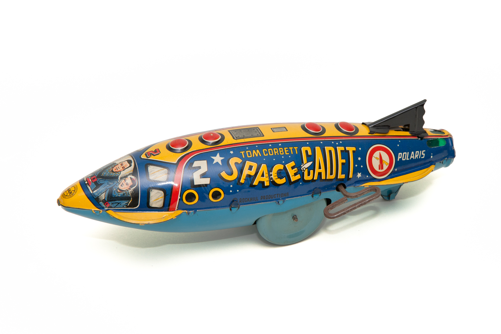 Toy Rocket Polaris (Wind-Up) – Tom Corbett Space Cadet (Marx 1953)