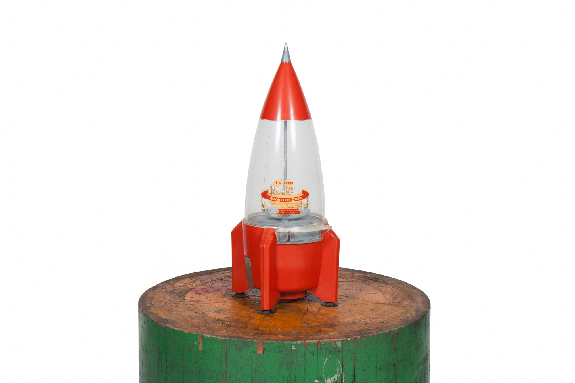 Rocket Gumball Machine (circa 1955)