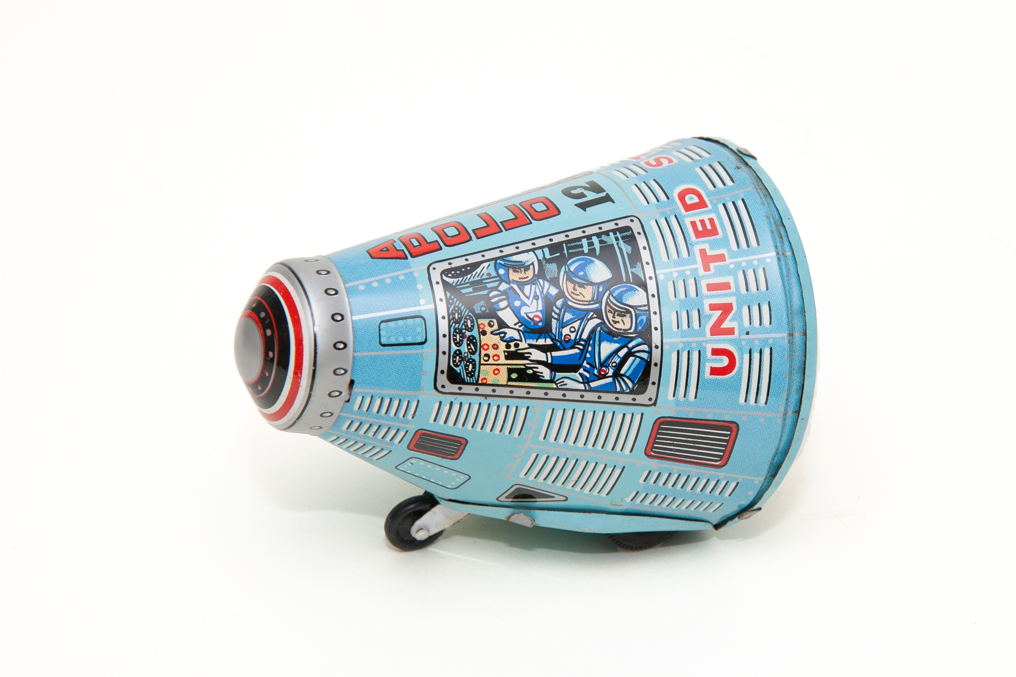 Toy Space Capsule – Apollo 12 (Japan circa 1970)